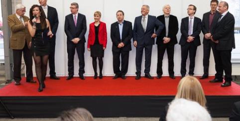 Zahájení veletrhu Střechy Praha 2015