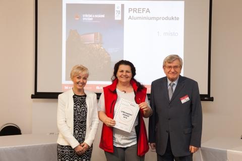 Vítěz soutěže Střechařský inzerát 2016 - PREFA Aluminiumprodukte s.r.o.