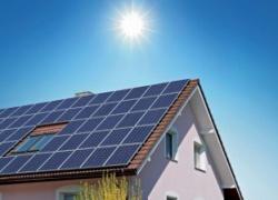 Střešní fotovoltaický systém