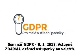 GDPR a malé a střední podniky