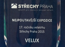 Nejpoutavější expozice na veletrhu Střechy Praha 2015